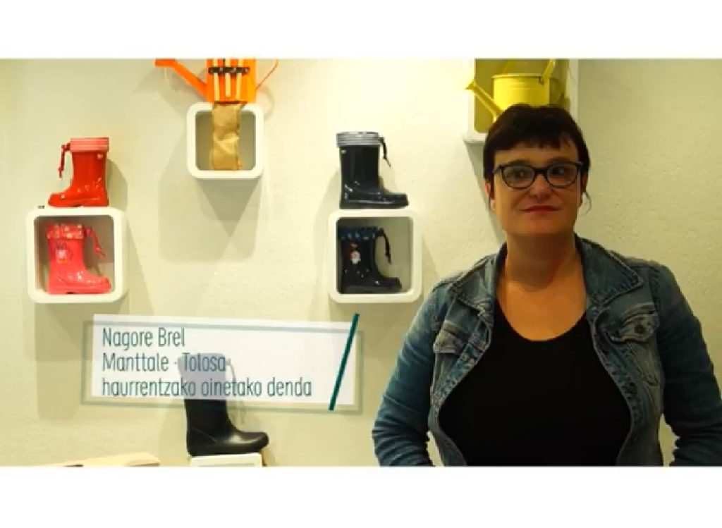 Nagore Brel: Manttale oinetako denda